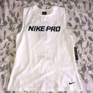 Nike Pro Women's Intertwist Muscle Tee